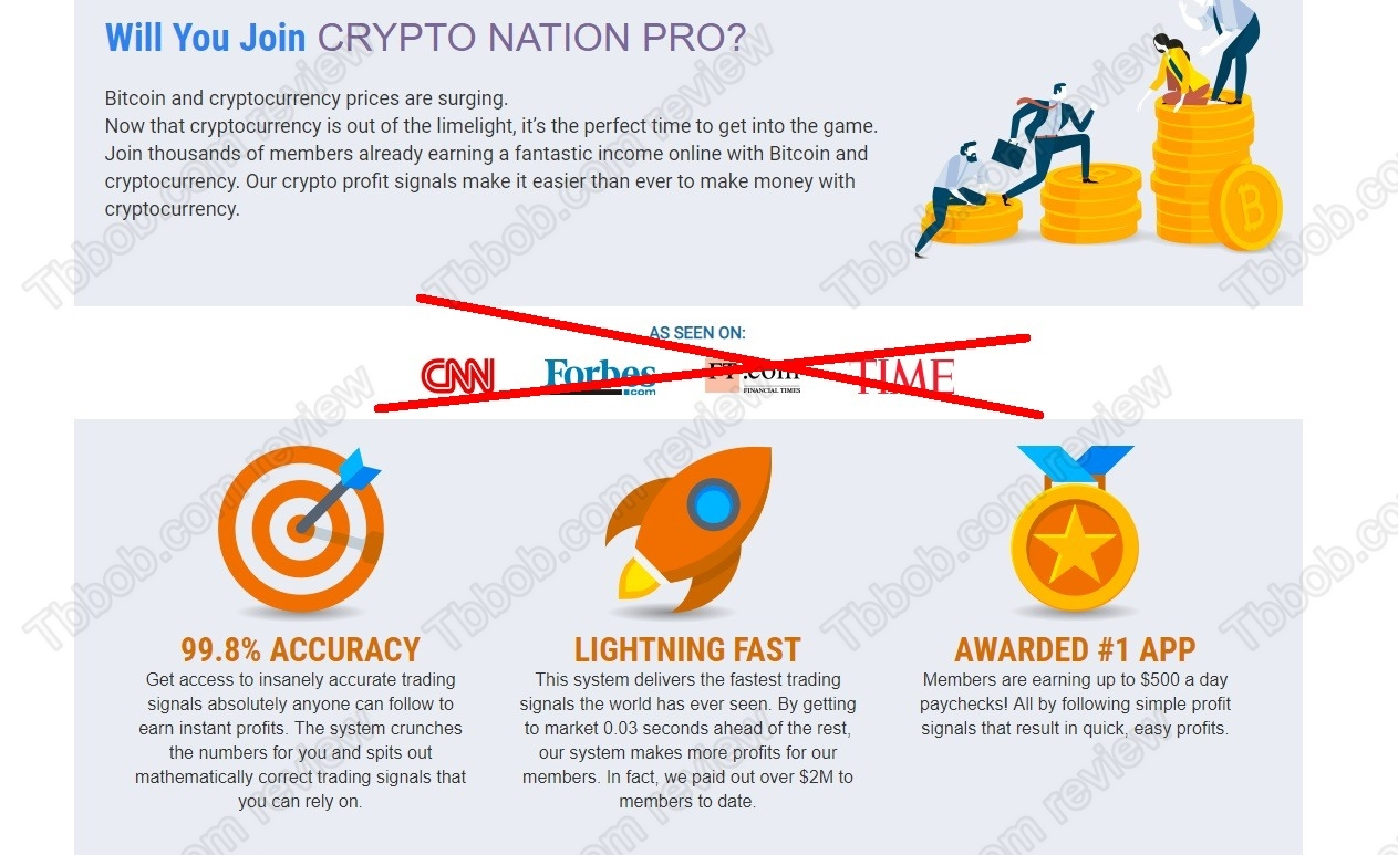 Crypto Nation Pro review – desperate SCAM on the go   TBBOB