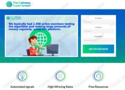 Calloway Crypto System review