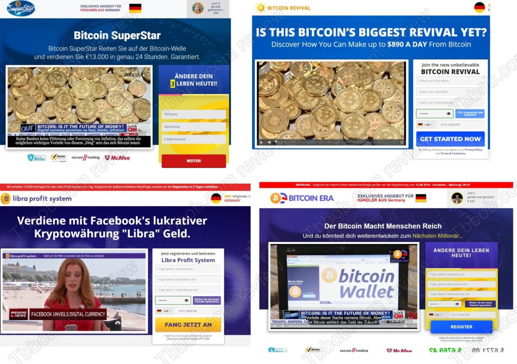 Bitcoin SuperStar scam