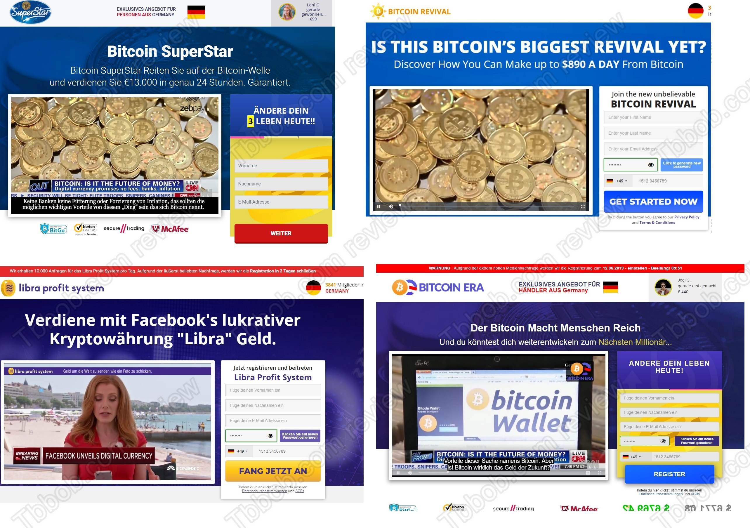 Bitcoin Superstar Fake