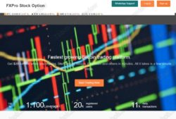 FXPro Stock Option review