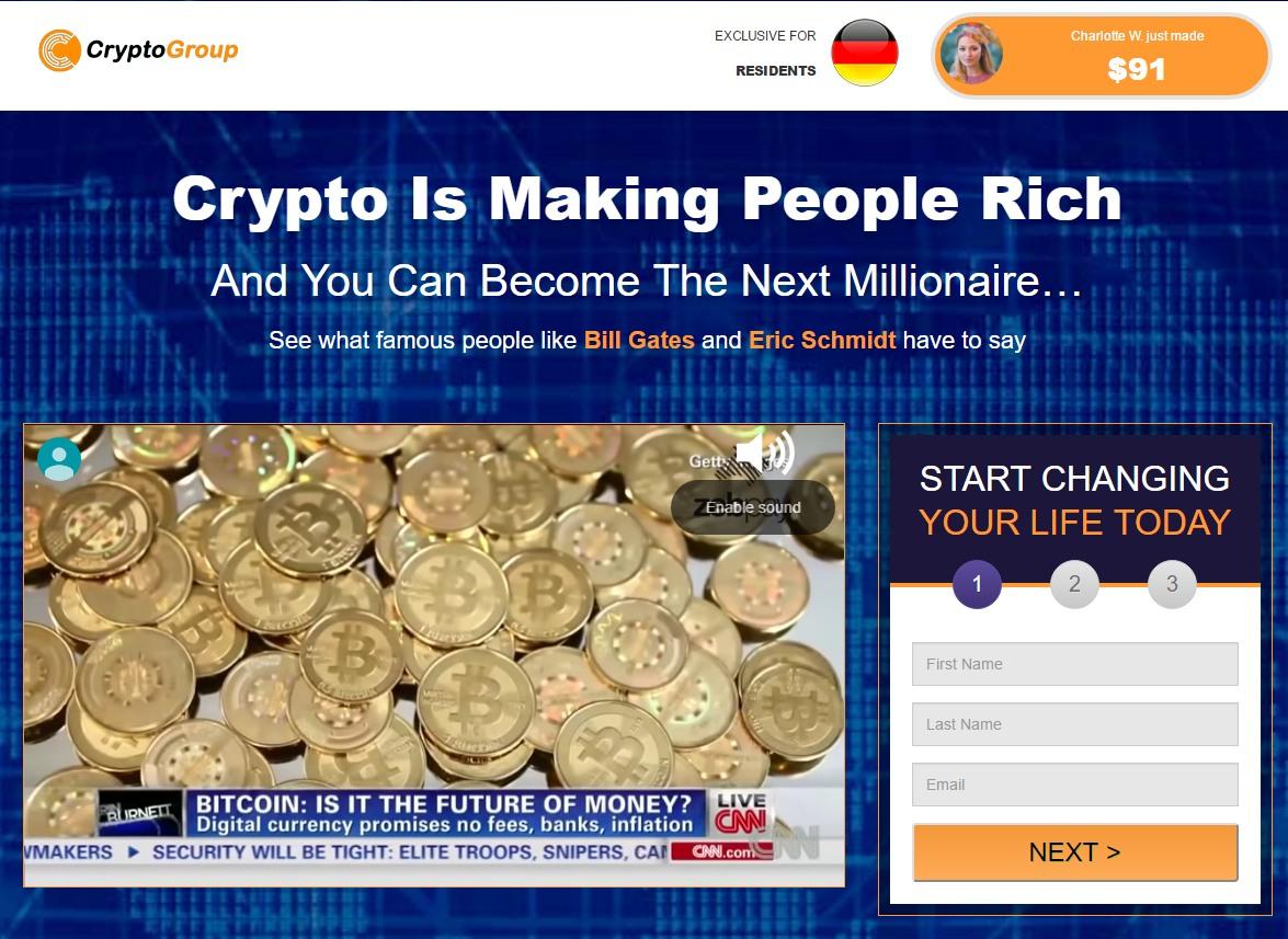 crypto money maker scam