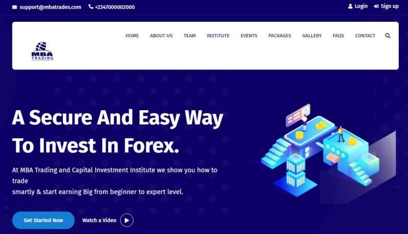 MBA Trading review