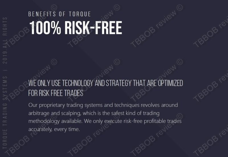 No risk free trading