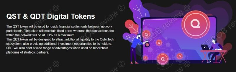 QST and QDT tokens