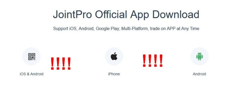 Joint Pro mobile app
